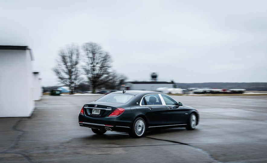 2017 Mercedes-Maybach S550 4MATIC - Slide 10