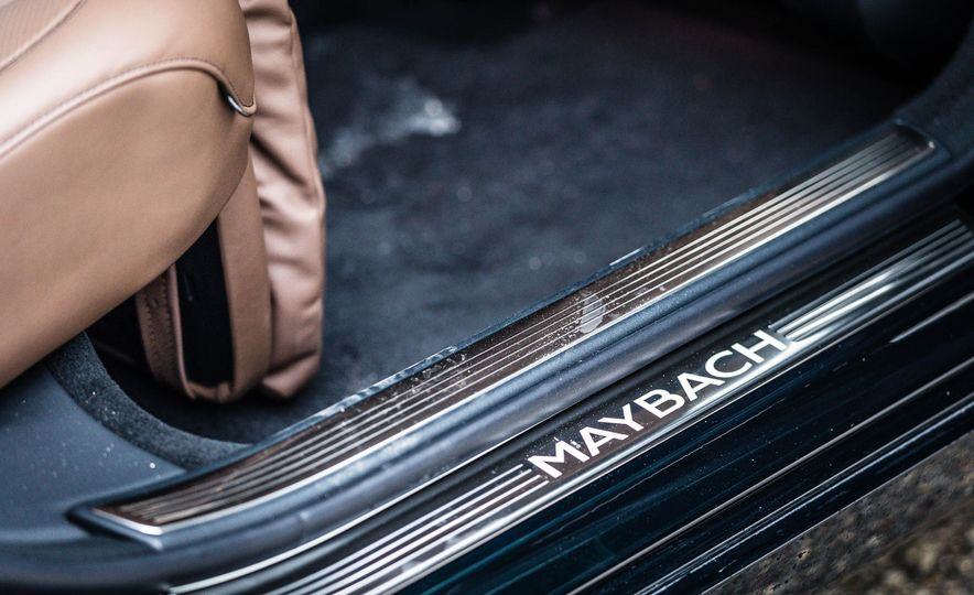 2017 Mercedes-Maybach S550 4MATIC - Slide 51