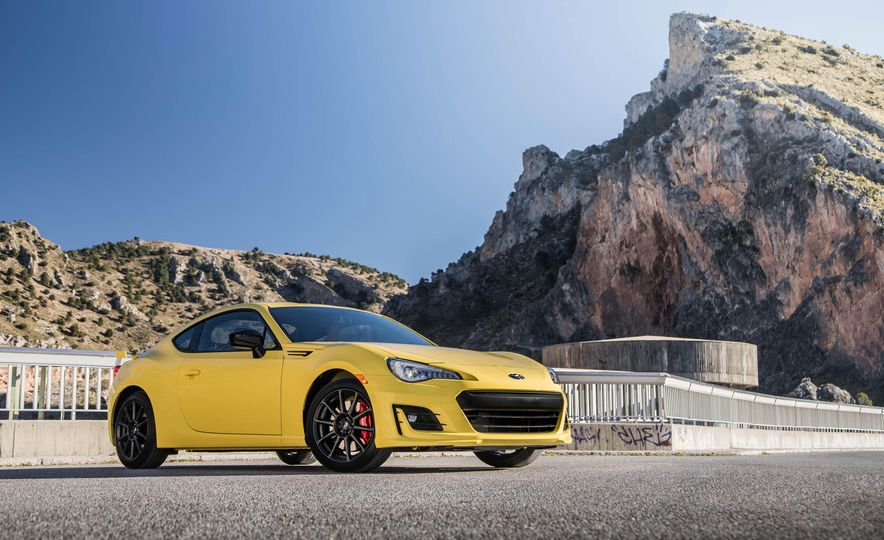2017 Subaru BRZ with Performance Package - Slide 8