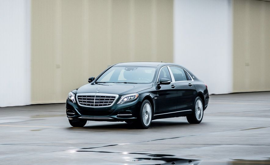 2017 Mercedes-Maybach S550 4MATIC - Slide 1