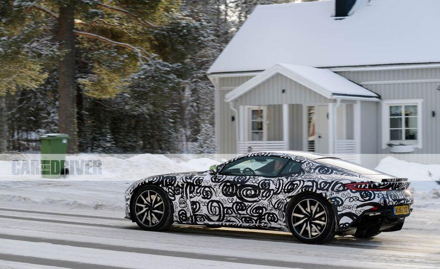 2018 Aston Martin Vantage (spy photo) - Slide 1