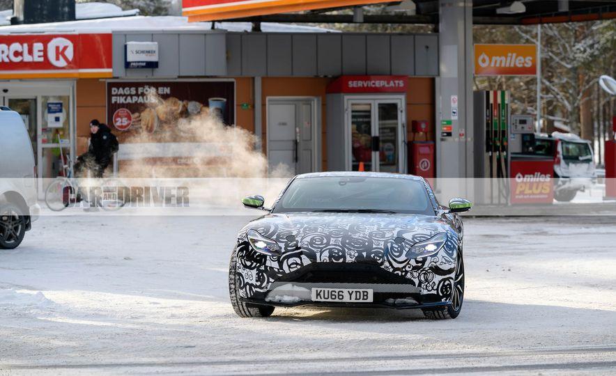 2018 Aston Martin Vantage (spy photo) - Slide 6