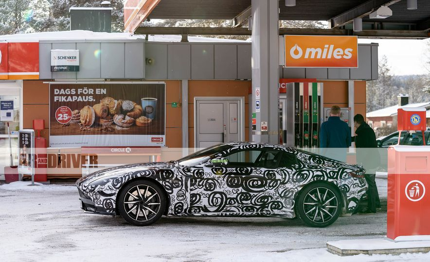 2018 Aston Martin Vantage (spy photo) - Slide 8