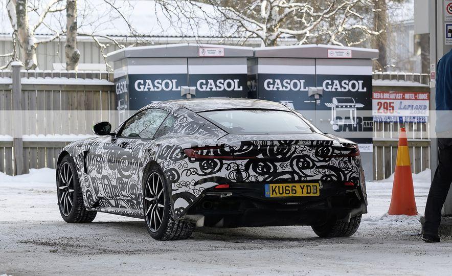 2018 Aston Martin Vantage (spy photo) - Slide 10
