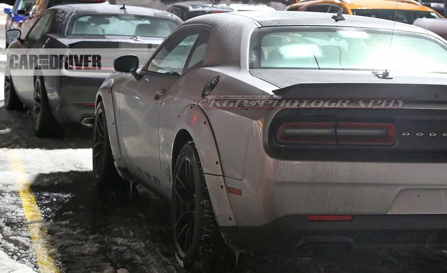 2018 Dodge Challenger SRT Demon (spy photo) - Slide 12