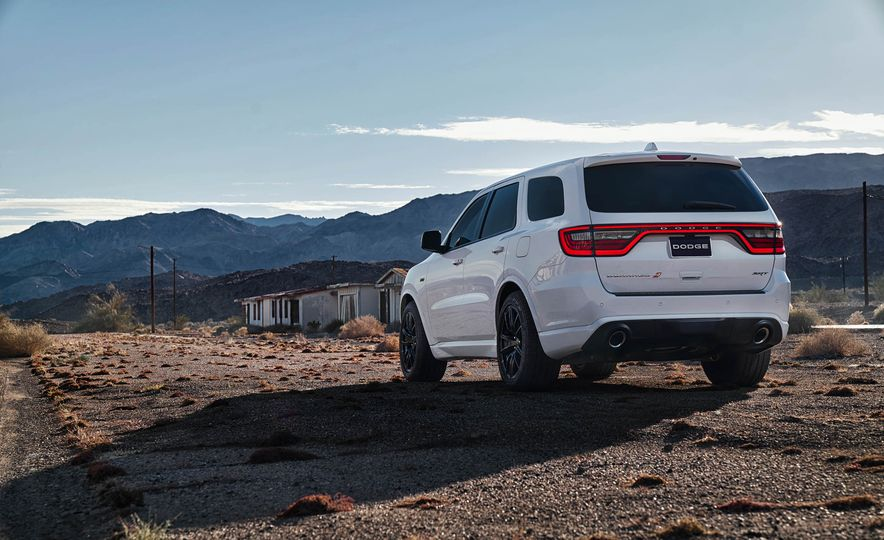 2018 Dodge Durango SRT - Slide 49