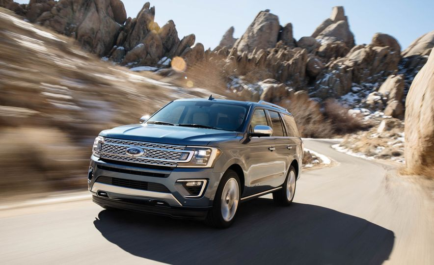 2018 Ford Expedition Platinum - Slide 19