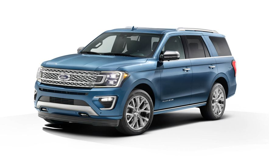 2018 Ford Expedition Platinum - Slide 23