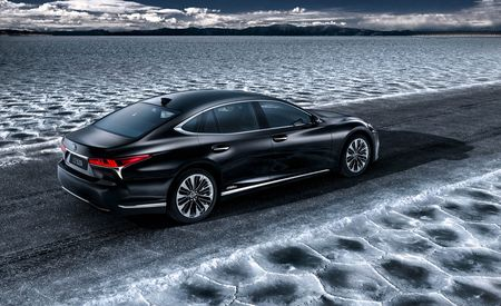 No L: New Lexus LS Hybrid Is the LS500h