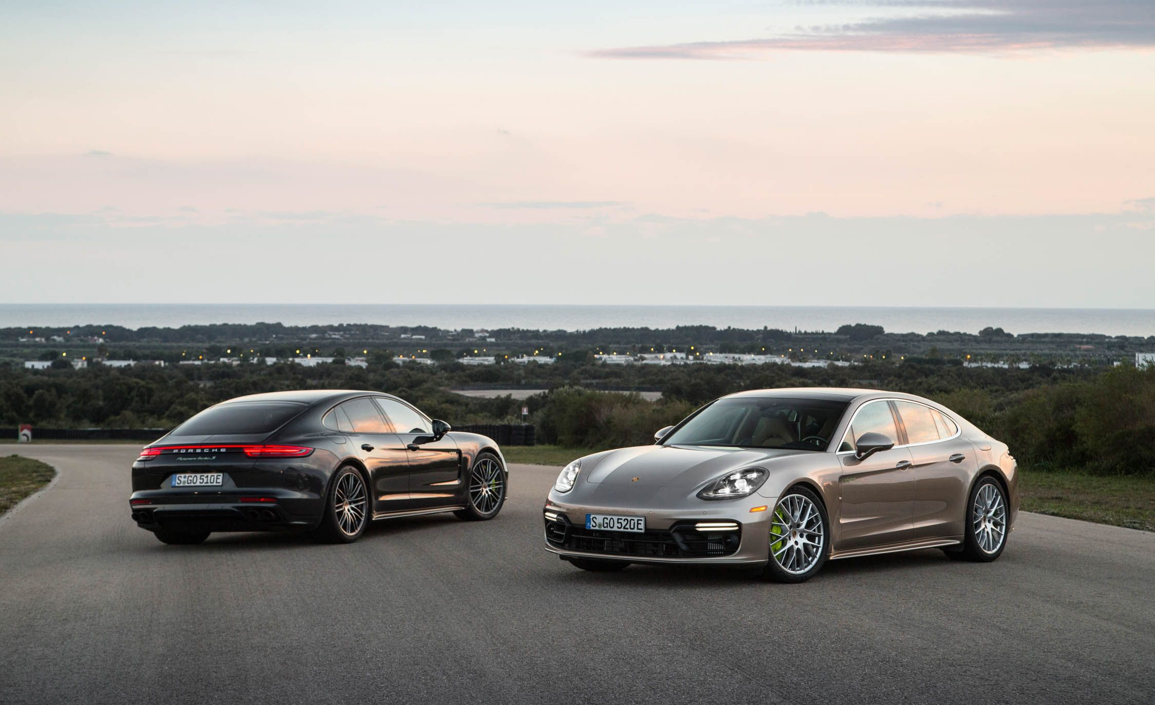 2018 porsche hybrid. simple porsche 2018 porsche panamera turbo s ehybrid pictures  photo gallery car and  driver throughout porsche hybrid