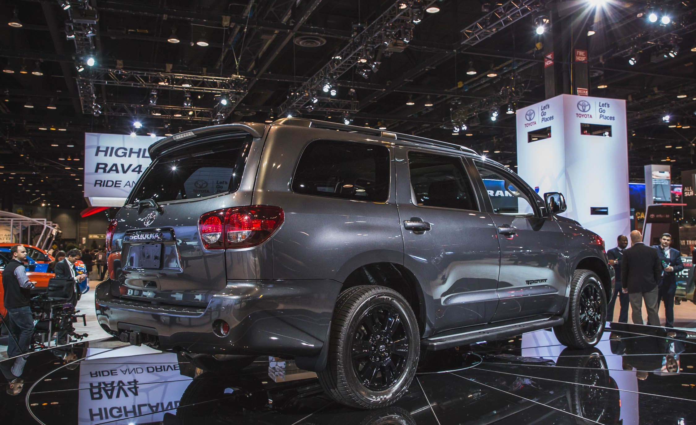 Toyota Sequoia Reviews Price Photos And Specs Car Driver