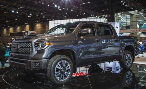 2018 Toyota Tundra Sport >> 2018 Tundra Trd Sport Revealed News Car And Driver