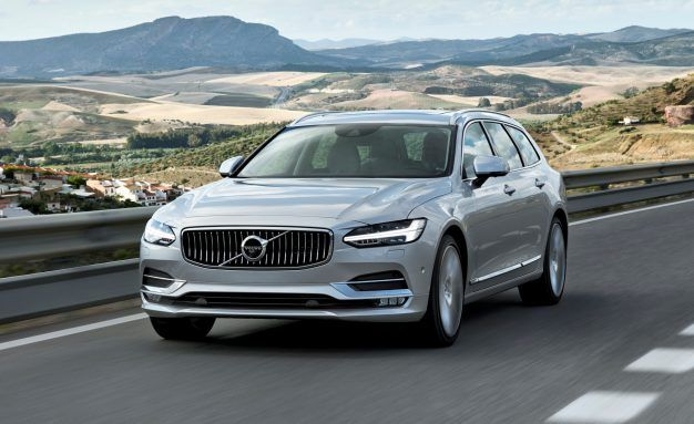 Order Up! Volvo V90 Wagon Available to Spec; R-Design Is Least Expensive