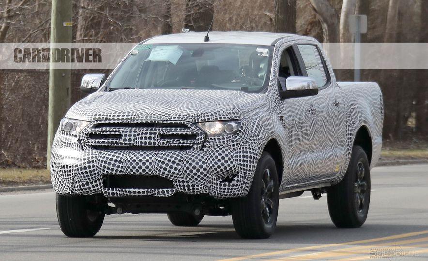 2019 Ford Ranger (spy photo) - Slide 1