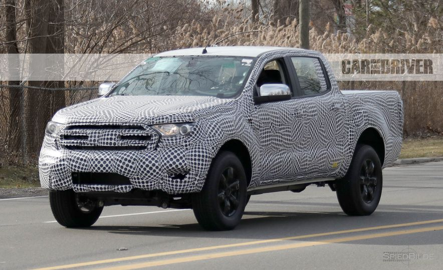 2019 Ford Ranger (spy photo) - Slide 2