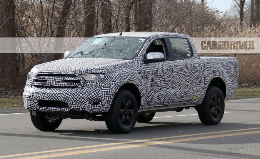 2019 Ford Ranger (spy photo) - Slide 3