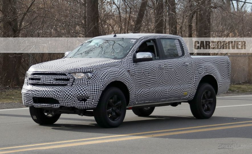 2019 Ford Ranger (spy photo) - Slide 4