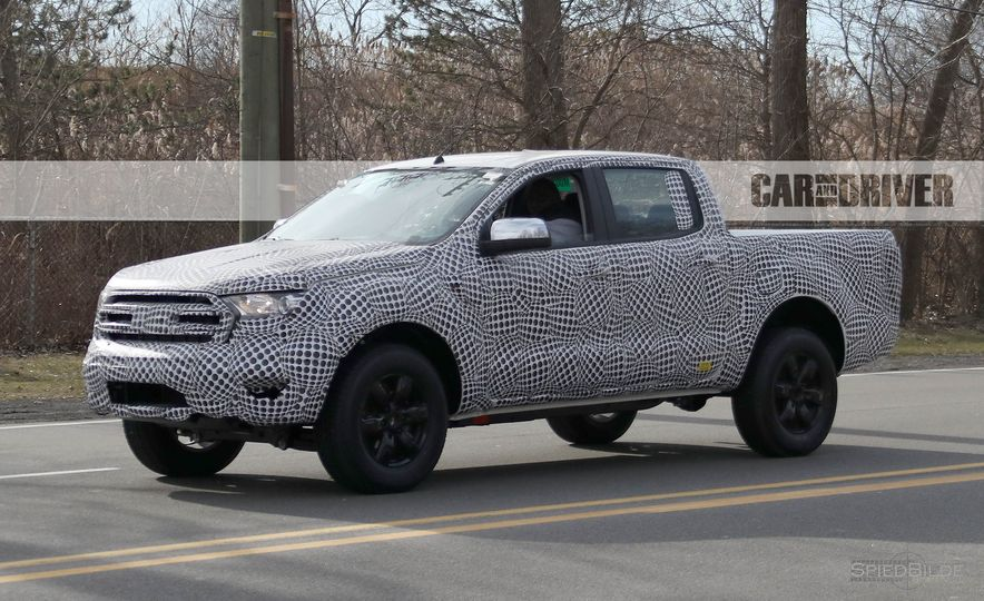 2019 Ford Ranger (spy photo) - Slide 5