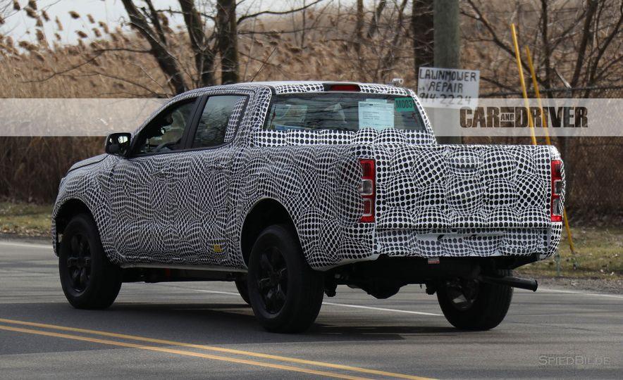 2019 Ford Ranger (spy photo) - Slide 10