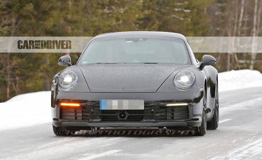 2020 Porsche 911 (spy photo) - Slide 1