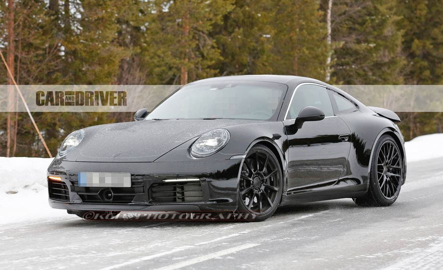 2020 Porsche 911 (spy photo) - Slide 3