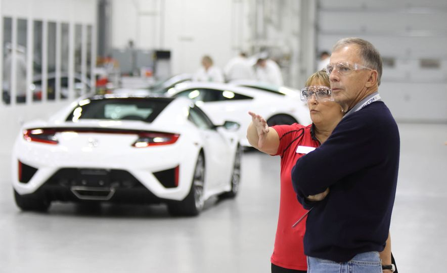 Acura Performance Manufacturing Center tour - Slide 1
