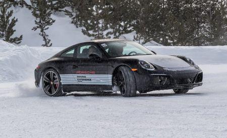 Ass-Out Antics: We Head to Porsche's Camp4 Canada Winter-Driving School