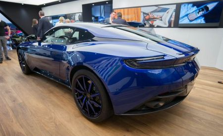 Tangled Up in Blue: Aston Martin Plays One Note with DB11 Q Concept