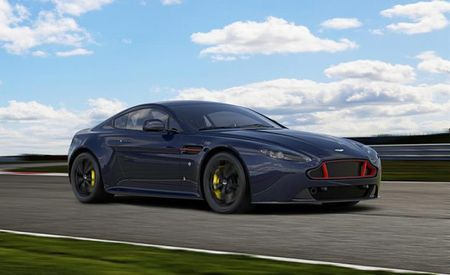 Red Bull Racing Edition Gives Aston Martin's V8 and V12 Vantage Wings (Not Really, But They Look Rad)