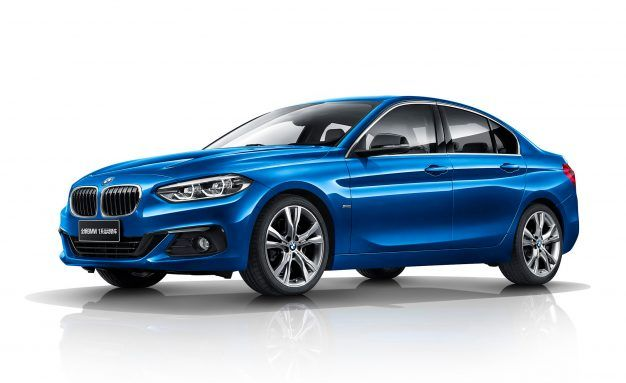 The One That Got Away: BMW Debuts 1-series Sedan for China Only