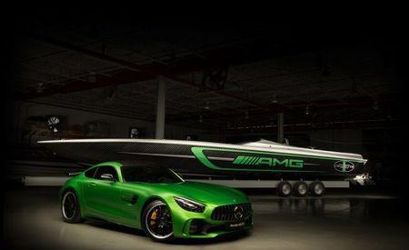 GT Arrrrr! Mercedes-AMG Cigarette Racing Boat Is a Marauder of the Waves