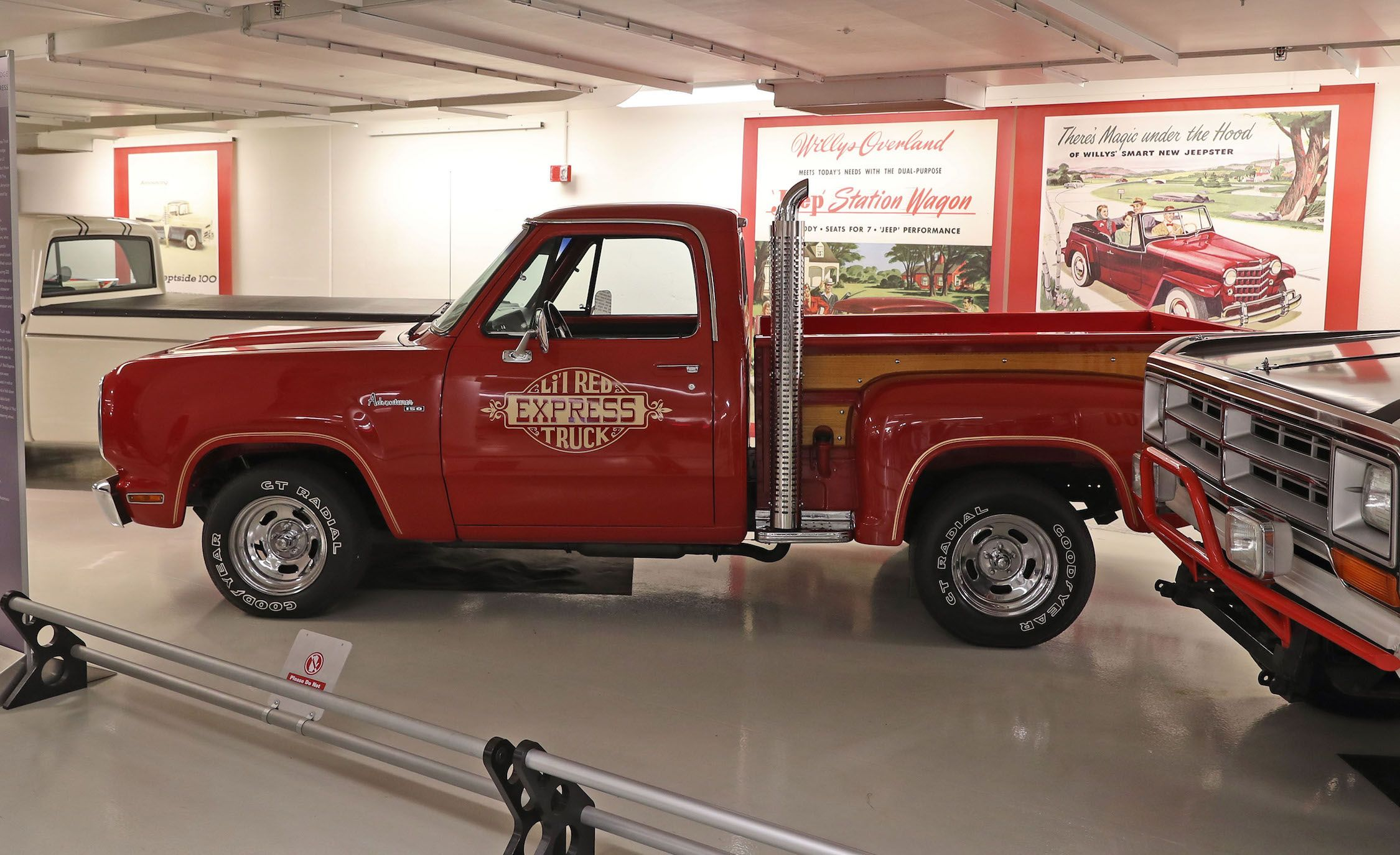 The Chrysler Museum In Pictures Gone But Not Forgotten 1941 Dodge Truck Seat