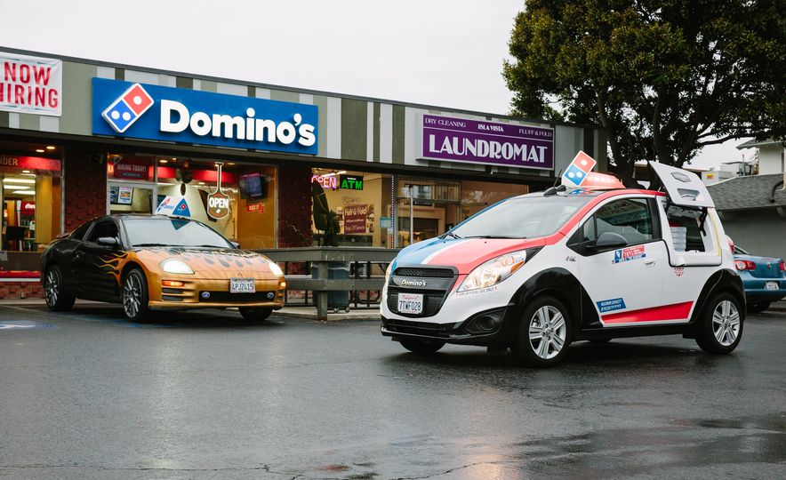 2001 Mitsubishi Eclipse GT-R and 2015 Domino's DXP - Slide 1