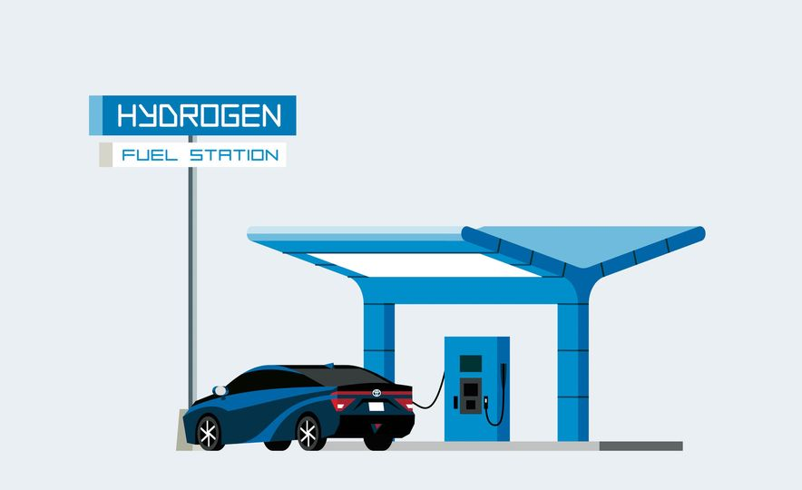 How A Hydrogen Filling Station Works - Slide 7