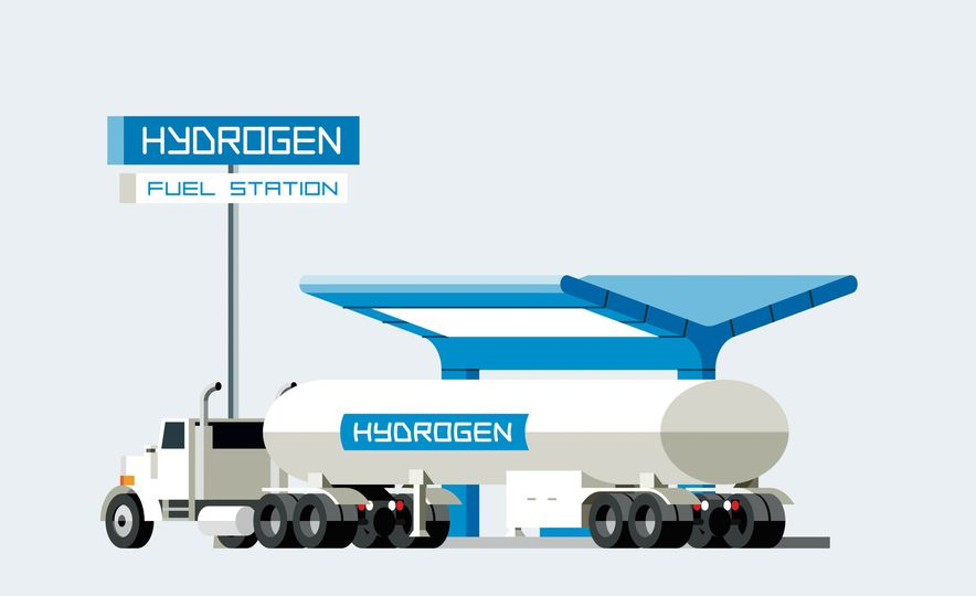 How A Hydrogen Filling Station Works - Slide 2