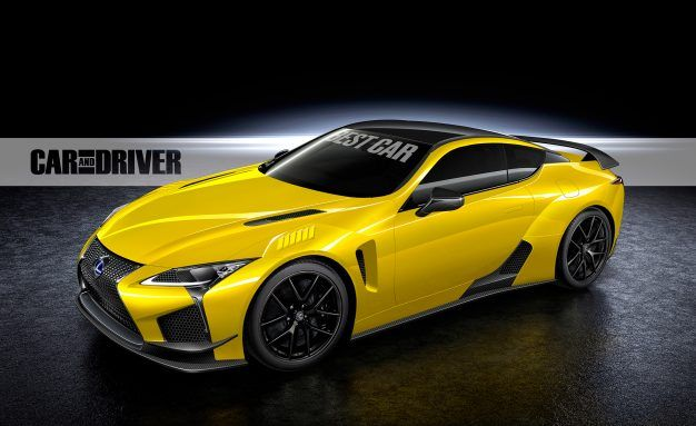 600 HP Lexus LC F Coming To Tokyo Auto Show This Fall | News | Car And  Driver