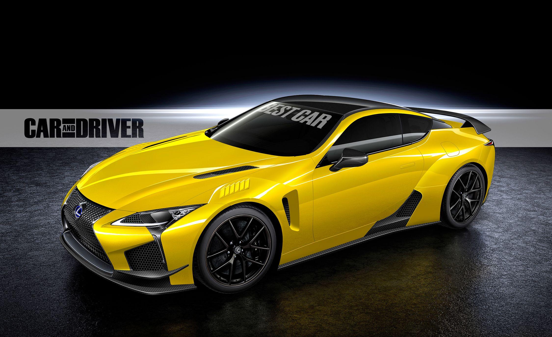 2018 Lexus LC F (artist's rendering) - Photo Gallery | Car ...