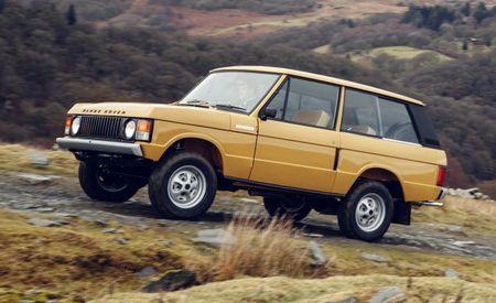 "Range Extender: Land Rover Launches ""Reborn"" Program for Vintage Range Rovers"