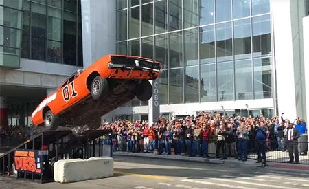 This Dukes of Hazzard Jump Re-Creation Was Historically Accurate, Right Down to the Crash Landing [Video]