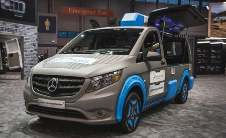My Eyes! Mercedes-Benz Shows a Concept Van Only a Tool Could Love