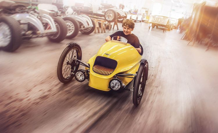 Trick Trike: Parents, Pay It Forward with This Toy Morgan EV3 Roadster