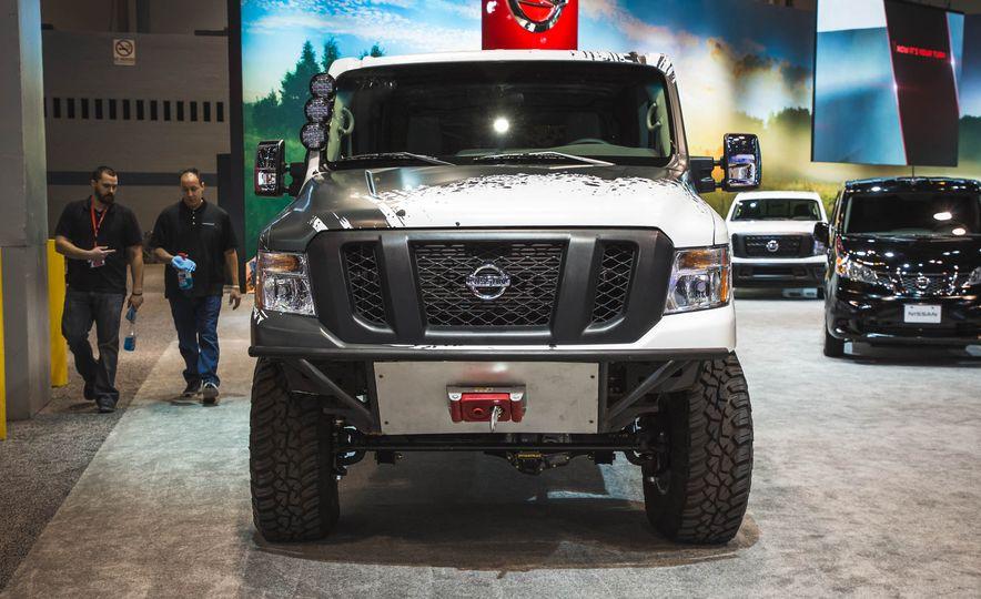 Nissan NV Cargo X project van - Slide 1