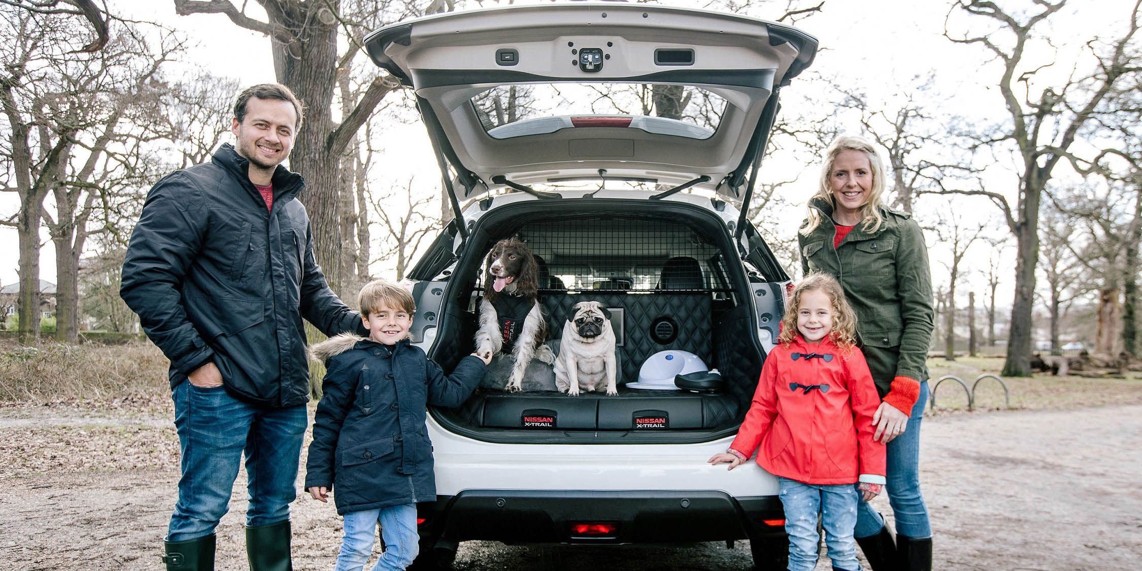 Nissan Caters to Canines with X-Trail 4Dogs Concept
