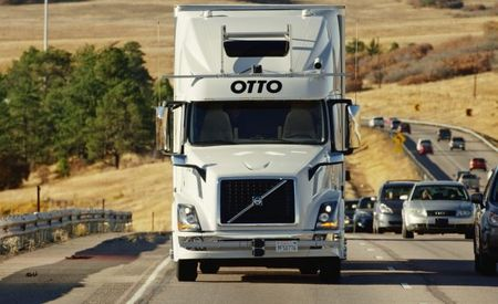 Otto's Self-Driving-Truck Tests on California Roads May Run Afoul of State Regulations