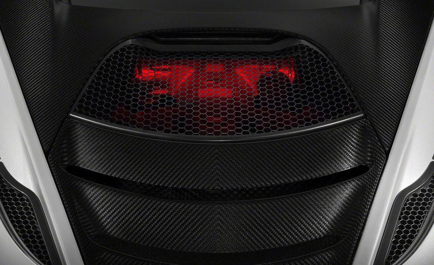 McLaren P14 Super Series engine teaser - Slide 1