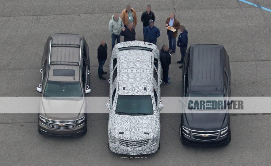 Cadillac Presidential Limousine (spy photo) - Slide 1