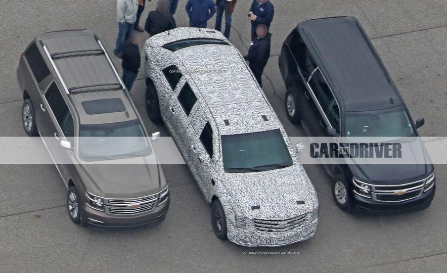 Cadillac Presidential Limousine (spy photo) - Slide 2