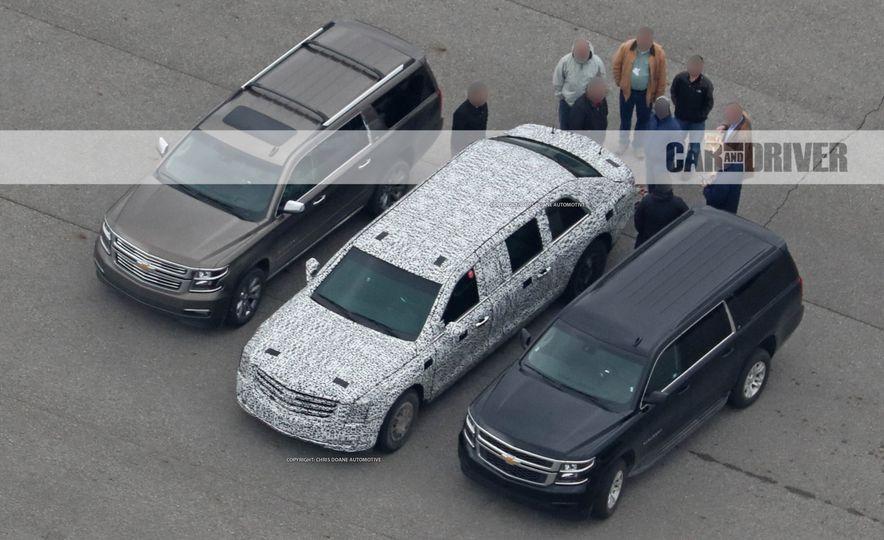 Cadillac Presidential Limousine (spy photo) - Slide 4