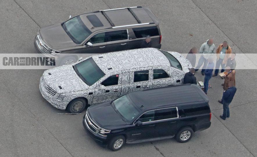 Cadillac Presidential Limousine (spy photo) - Slide 5