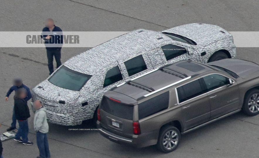 Cadillac Presidential Limousine (spy photo) - Slide 9